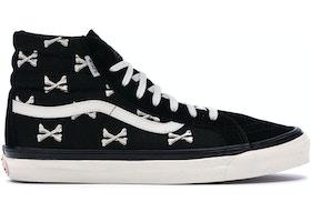 Vans Sk8-Hi WTAPS Black Crossbones