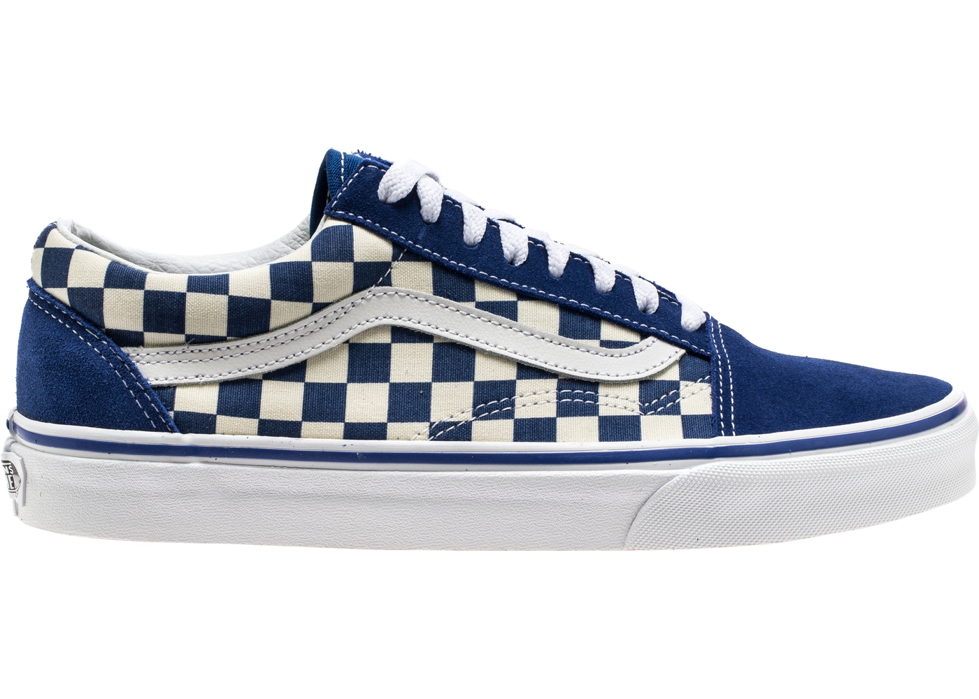 5482ee36463 Vans Old Skool Blue Checkerboard - VN0A38G1P0U
