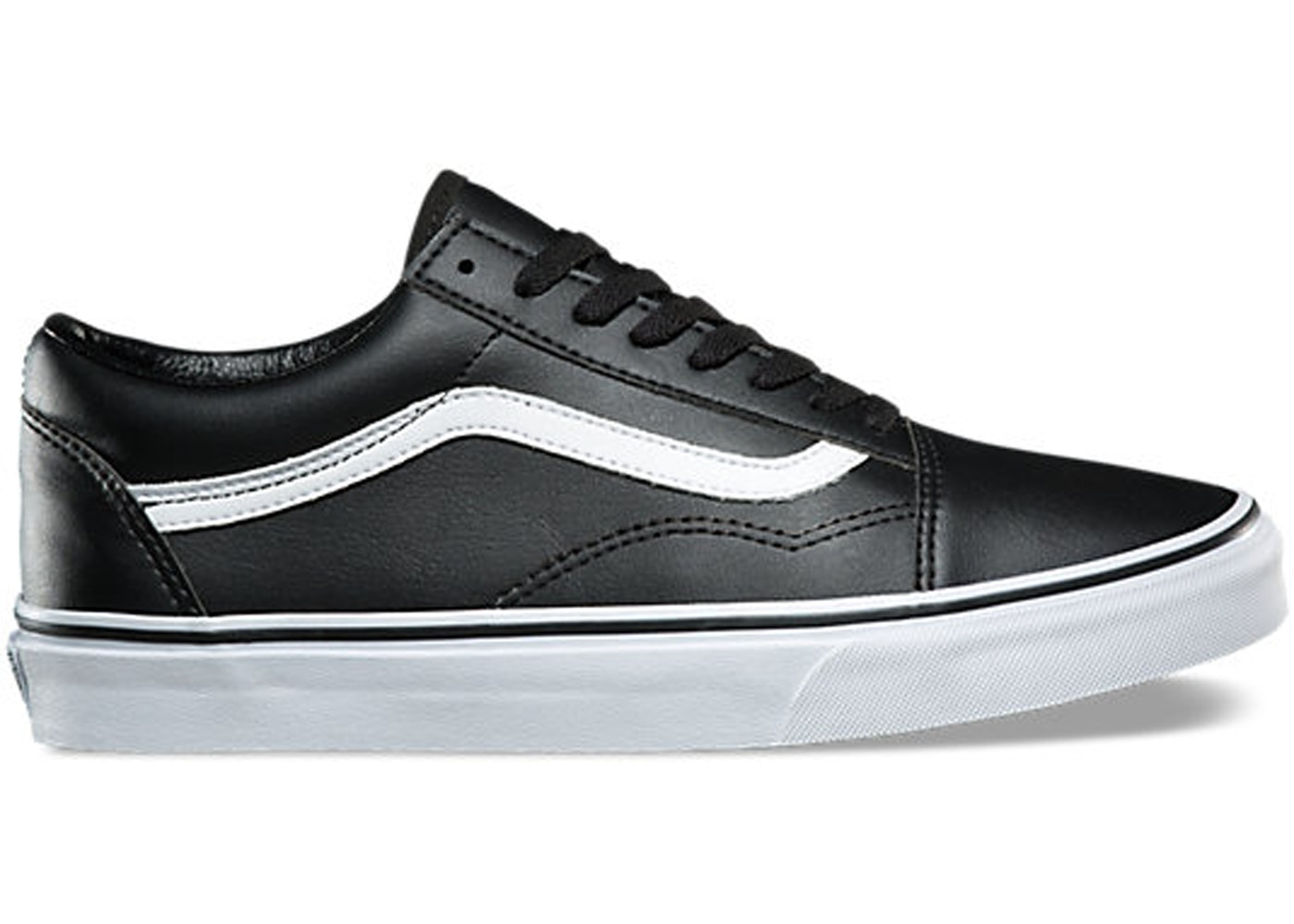 334440b1563cae ... Black White vans old skool classic sale