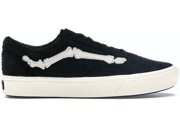 vans old skool black bone
