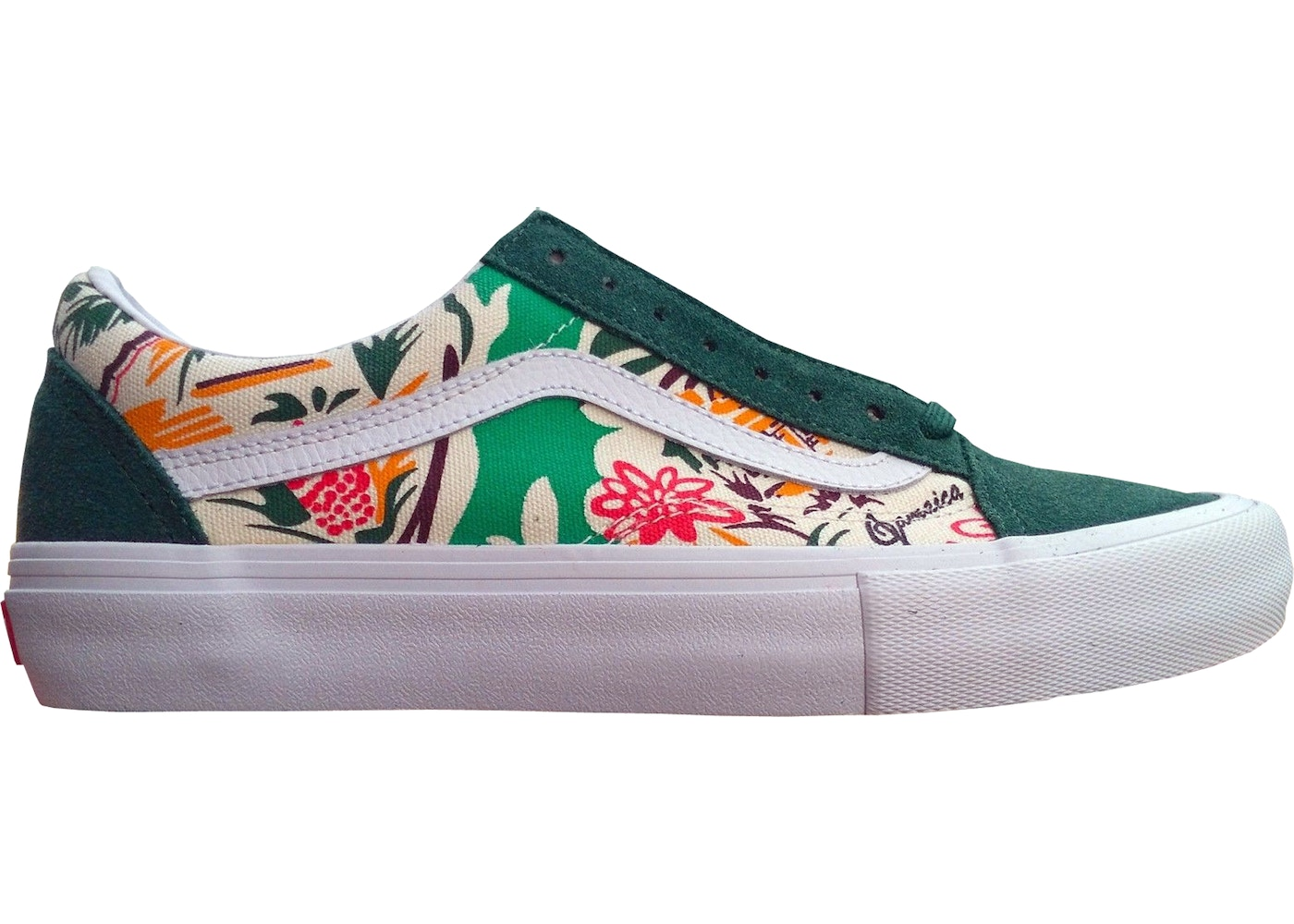 3be7a1feadd09f Vans Old Skool Concepts Jamaica Green - VN000ZD4NQU