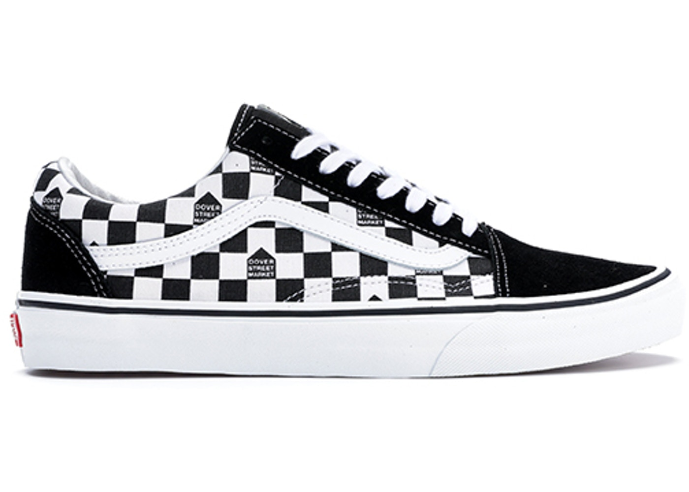 Execute skip Grease  Vans Old Skool DSM Checkerboard Black White - VN0004OJJ7L