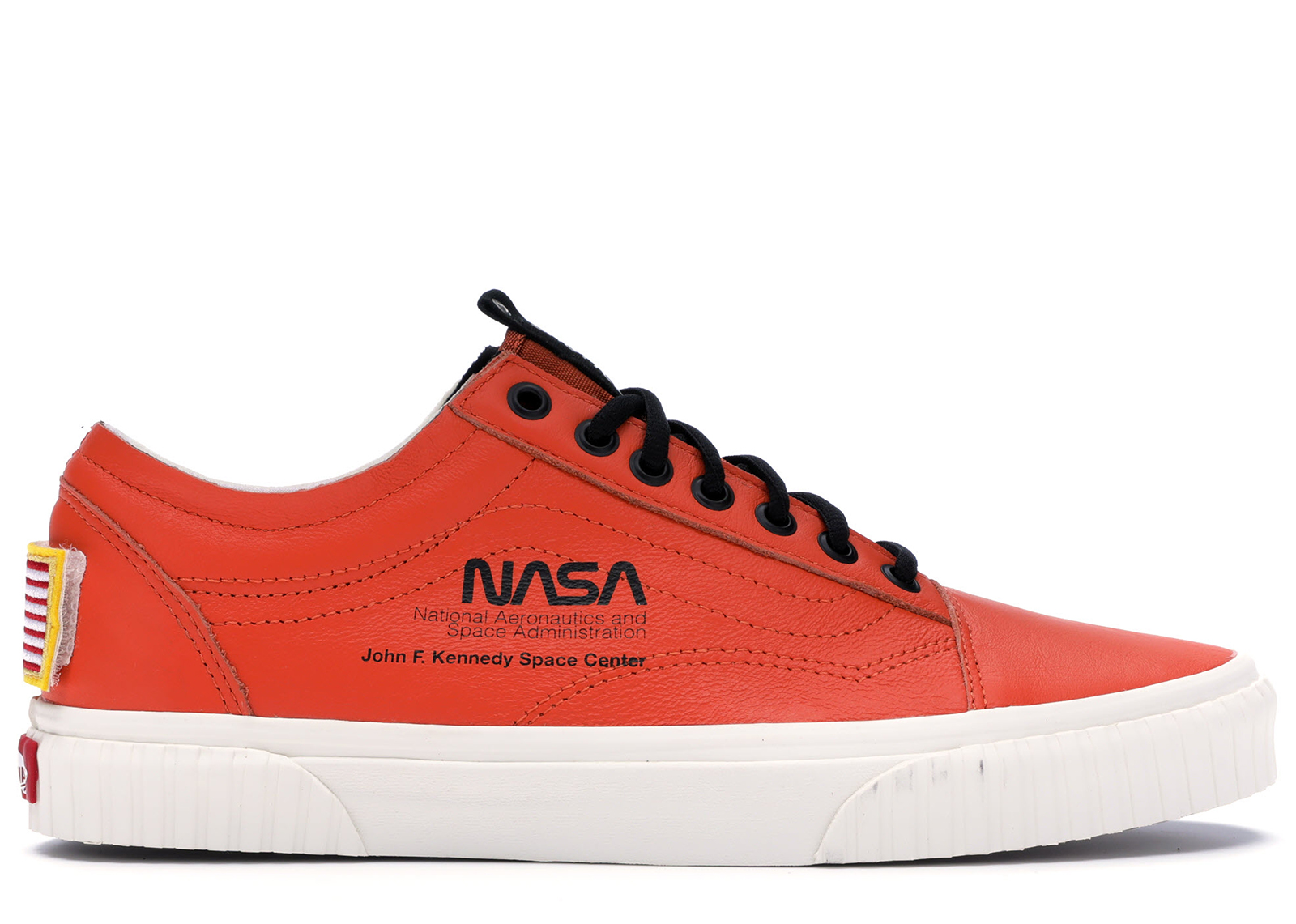 Details about NASA X Vans Space Voyager Old Skool Firecracker Orange Shoes Men's 7.5