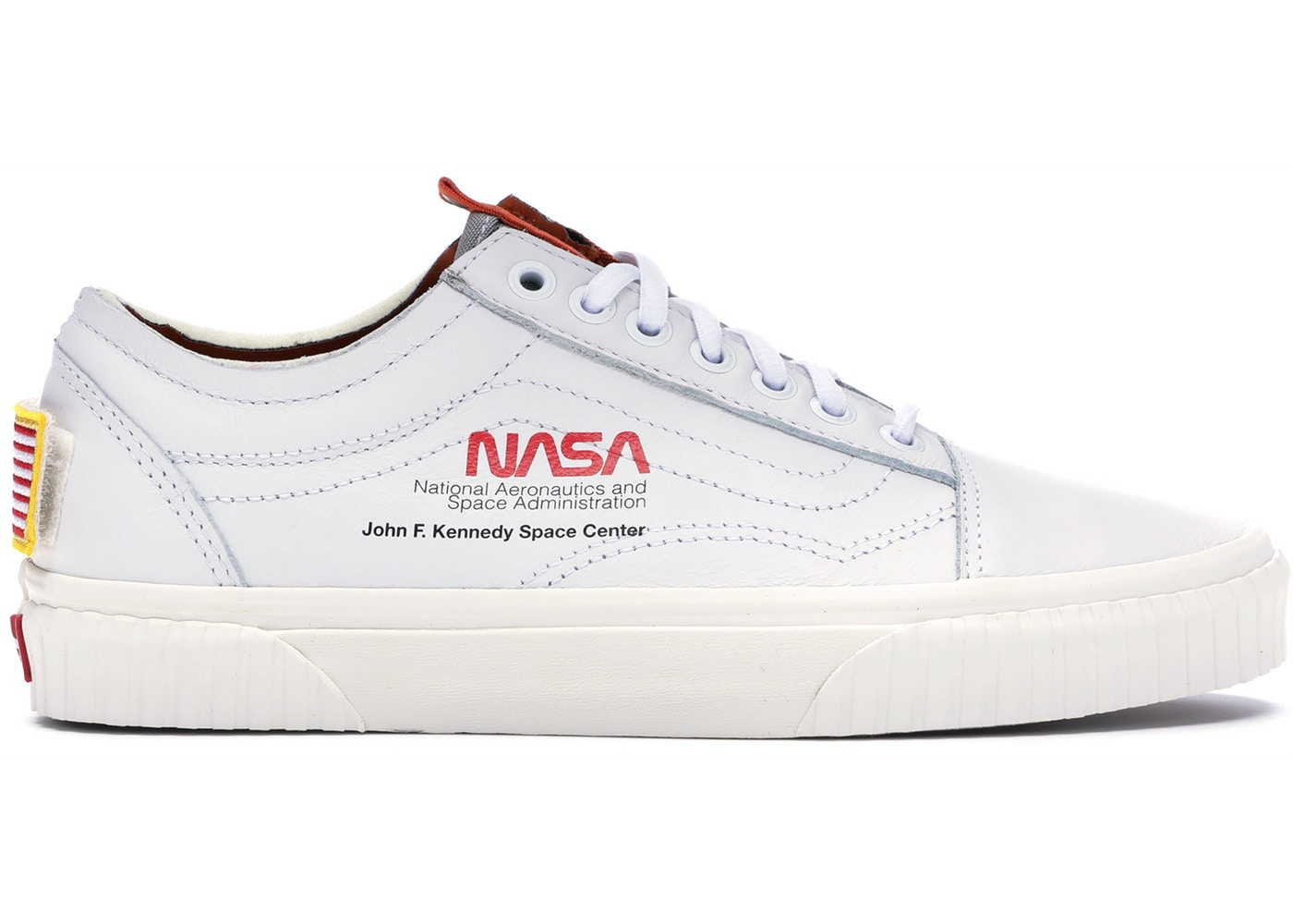 vans old skool nasa space voyager true white vn0a38g1up9. Black Bedroom Furniture Sets. Home Design Ideas
