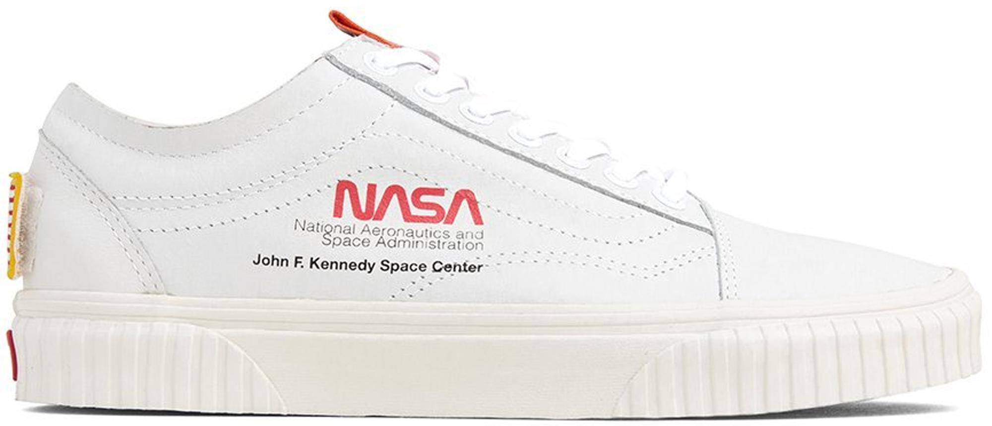 Vans Old Skool NASA Space Voyager True White