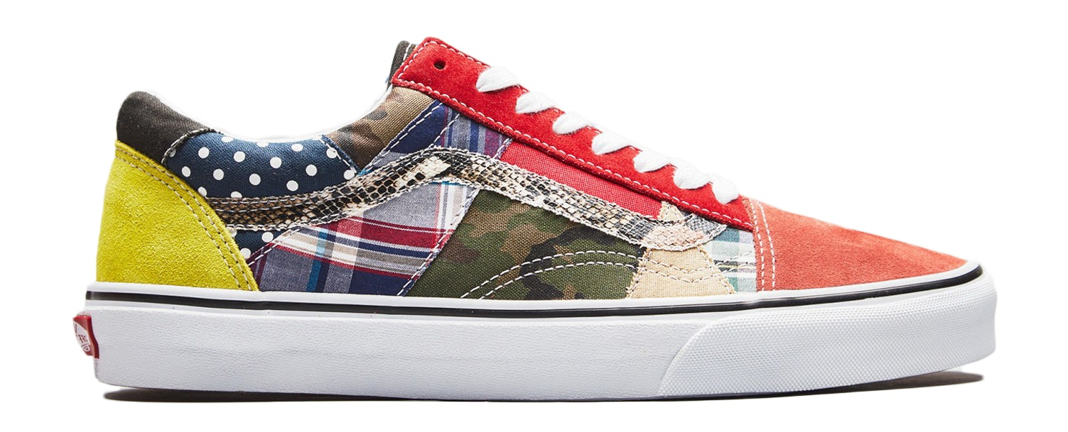 Vans Old Skool Patchwork Factory Floor