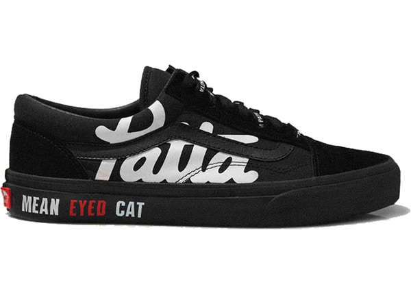 Vans Old Skool Patta x Beams Mean Eyed Cat