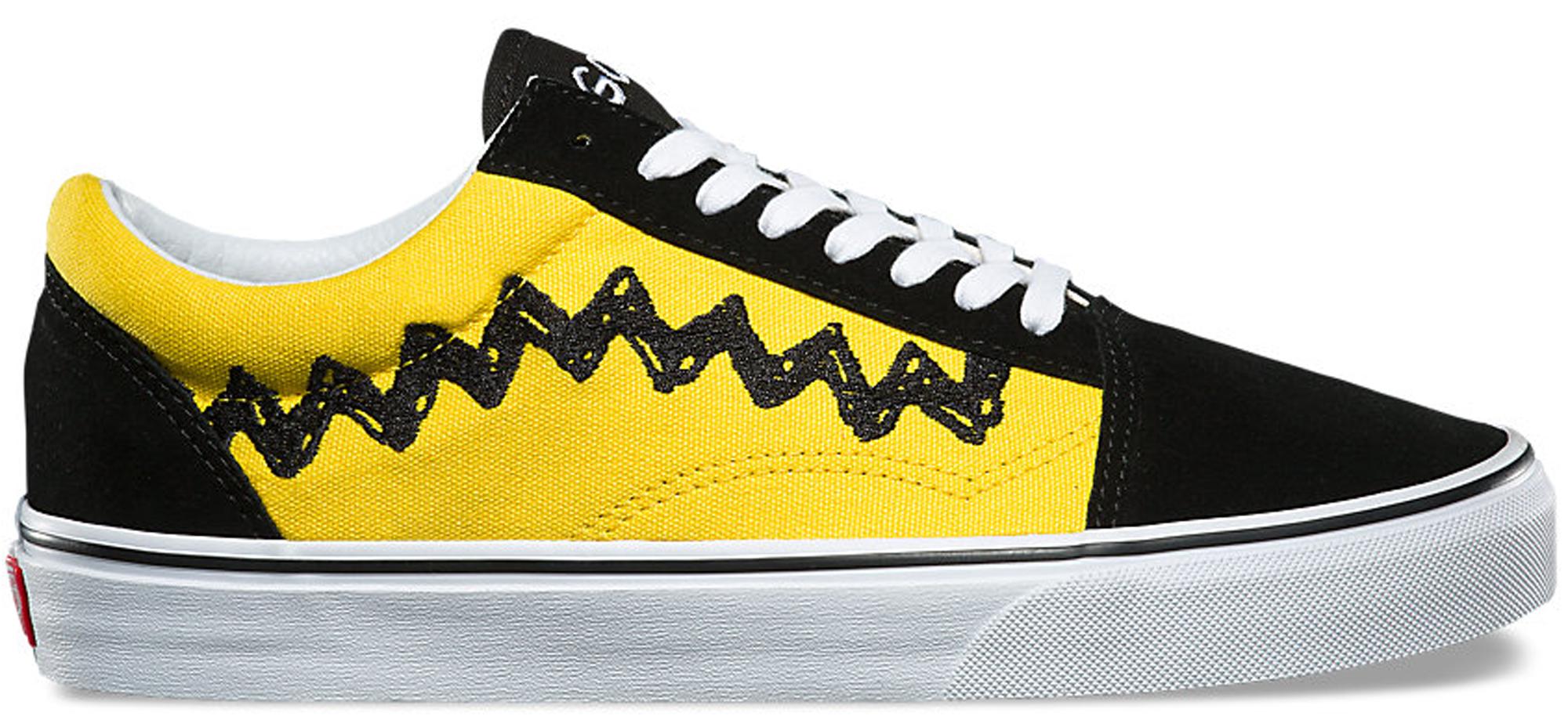 Custom Vans For Sale >> Vans Old Skool Peanuts Charlie Brown - VN0A38G1OHJ