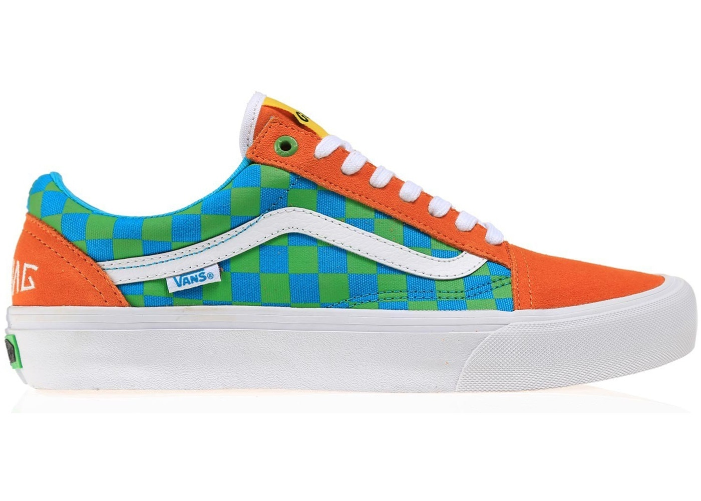 Vans Old Skool Golf Wang Orange
