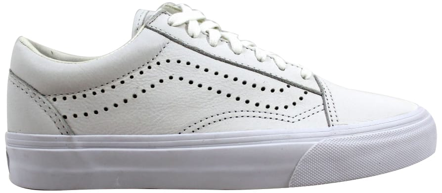 Vans Old Skool Reissue White Leather