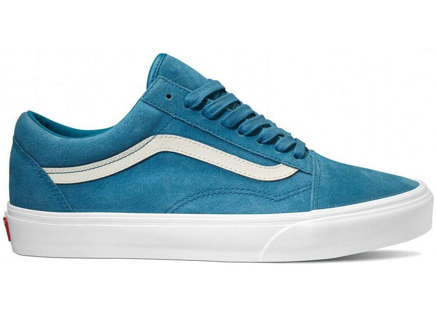 Vans Old Skool Soft Suede Sapphire Blue
