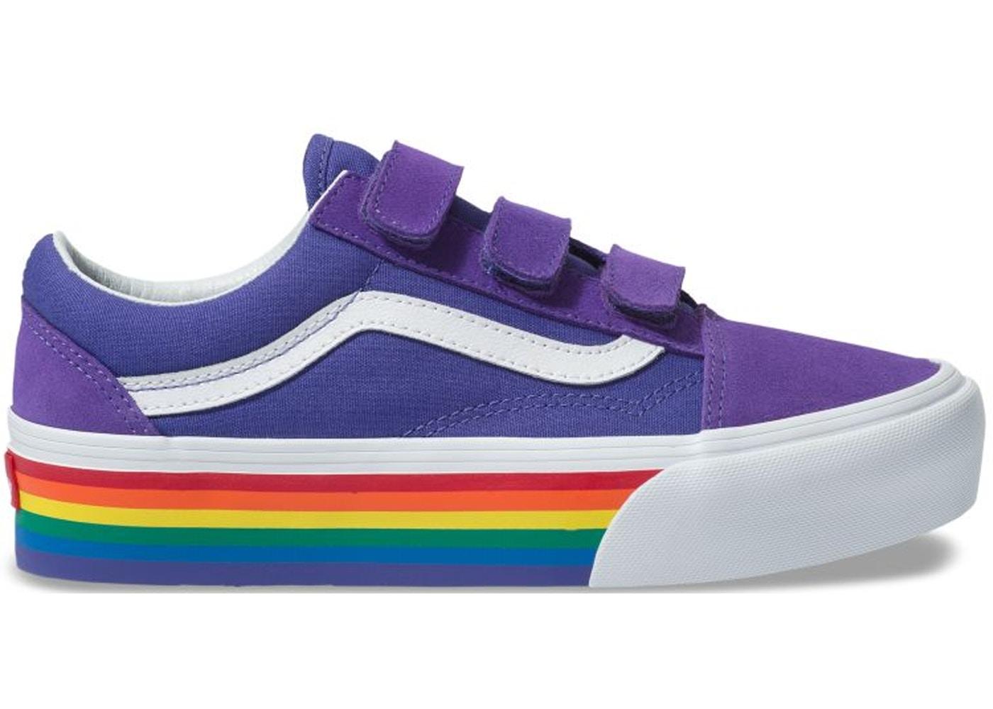 Vans Old Skool V Platform Rainbow Pride (2019) - Sneakers
