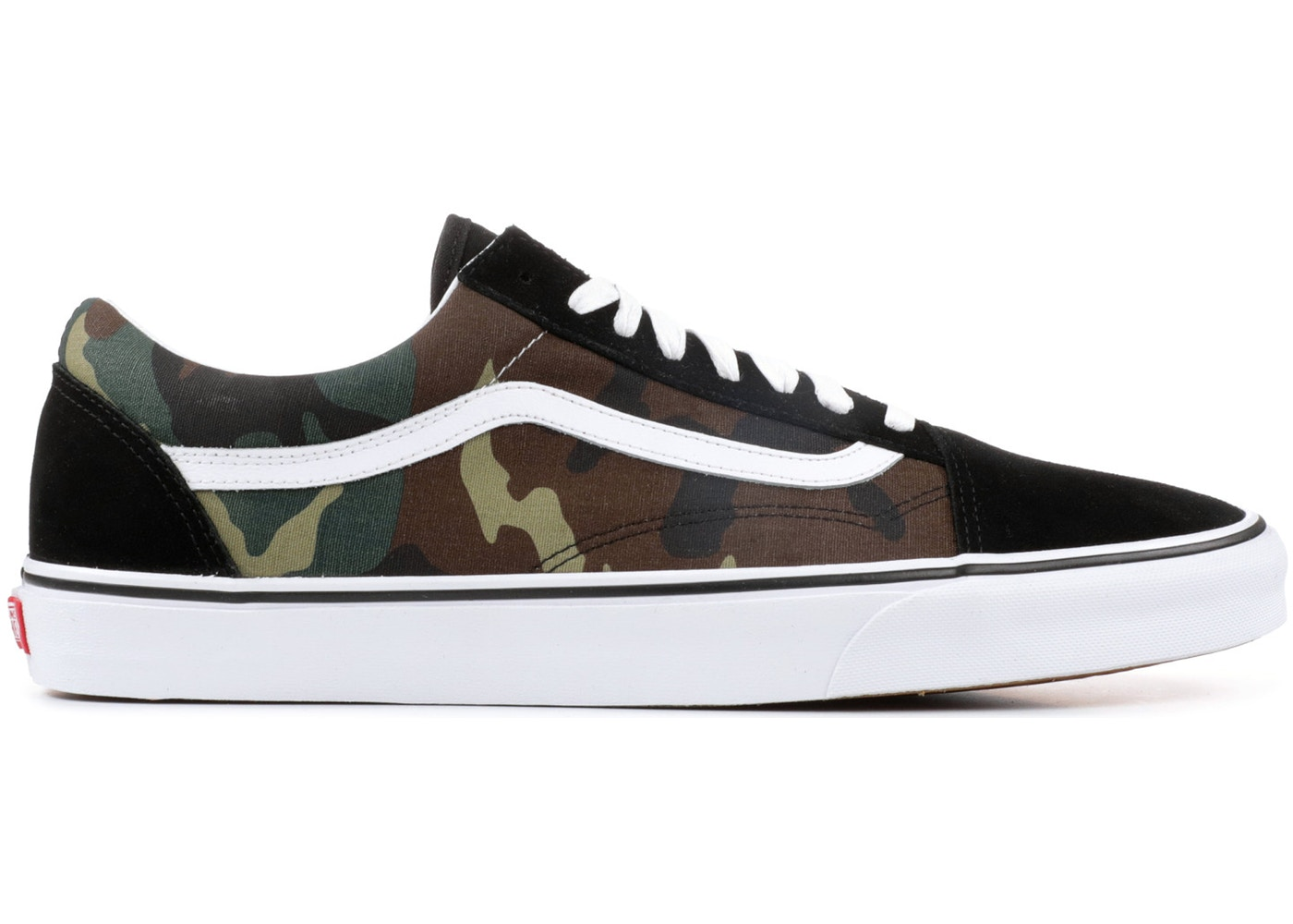 d476864c Vans Old Skool Woodland Camo