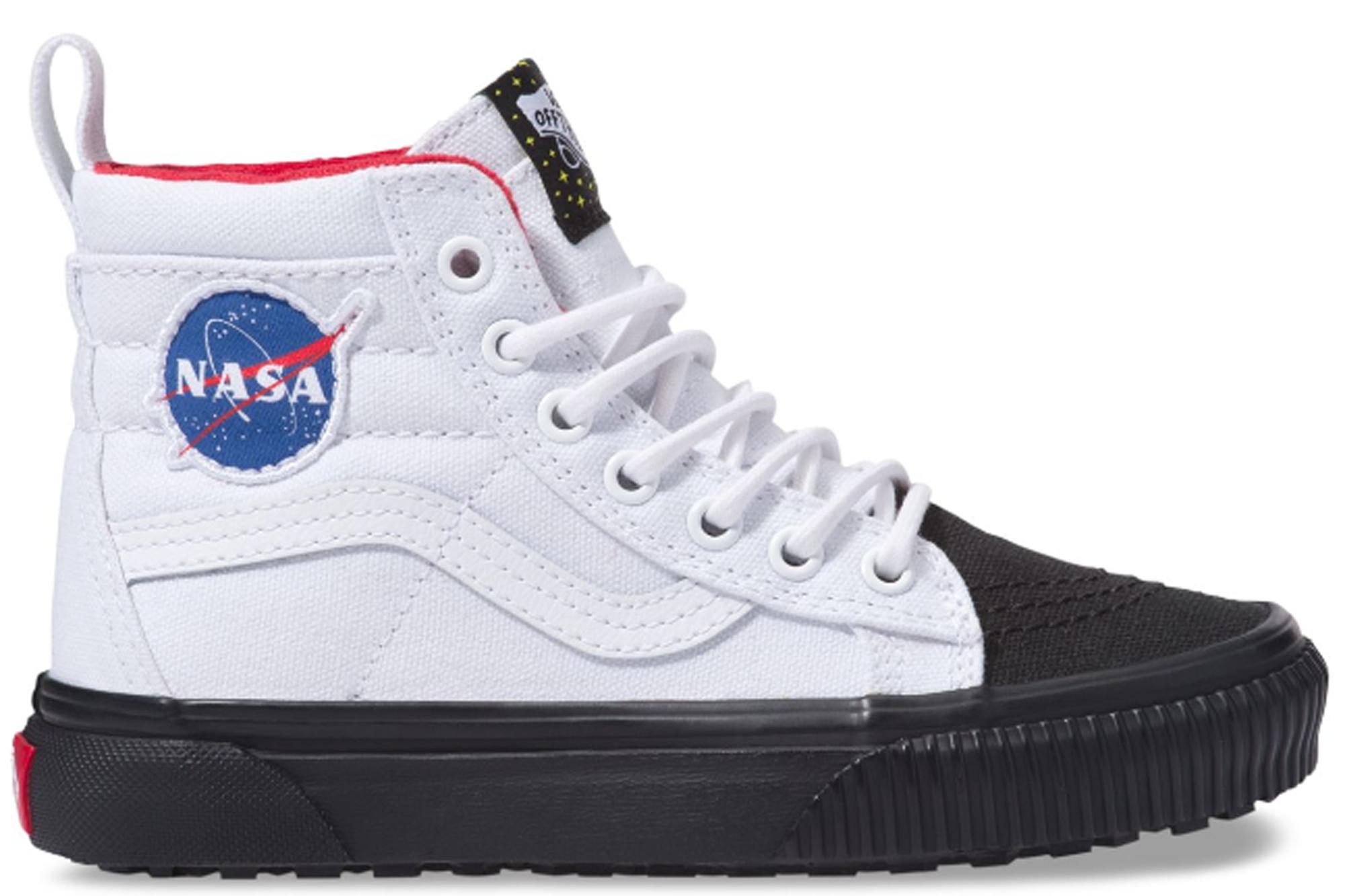 e3d11614dc Vans Sk8-Hi MTE NASA Space Voyager True White (PS) - VN0A2XSNUT0