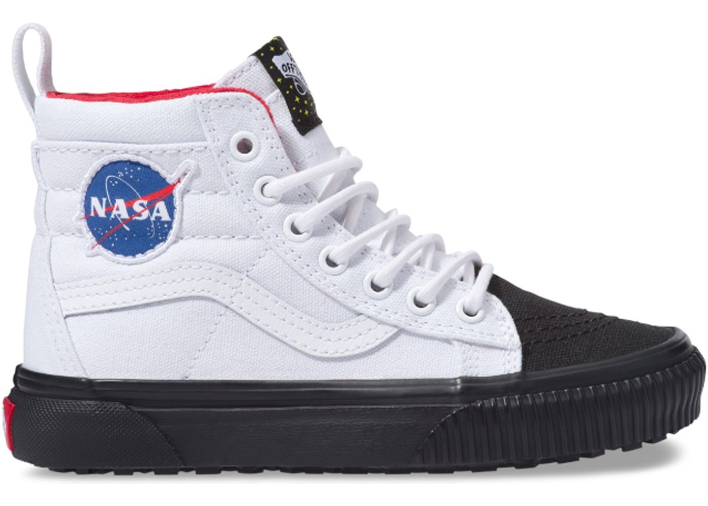 4436a61d40a67d Vans Sk8-Hi MTE NASA Space Voyager True White (PS) - VN0A2XSNUT0