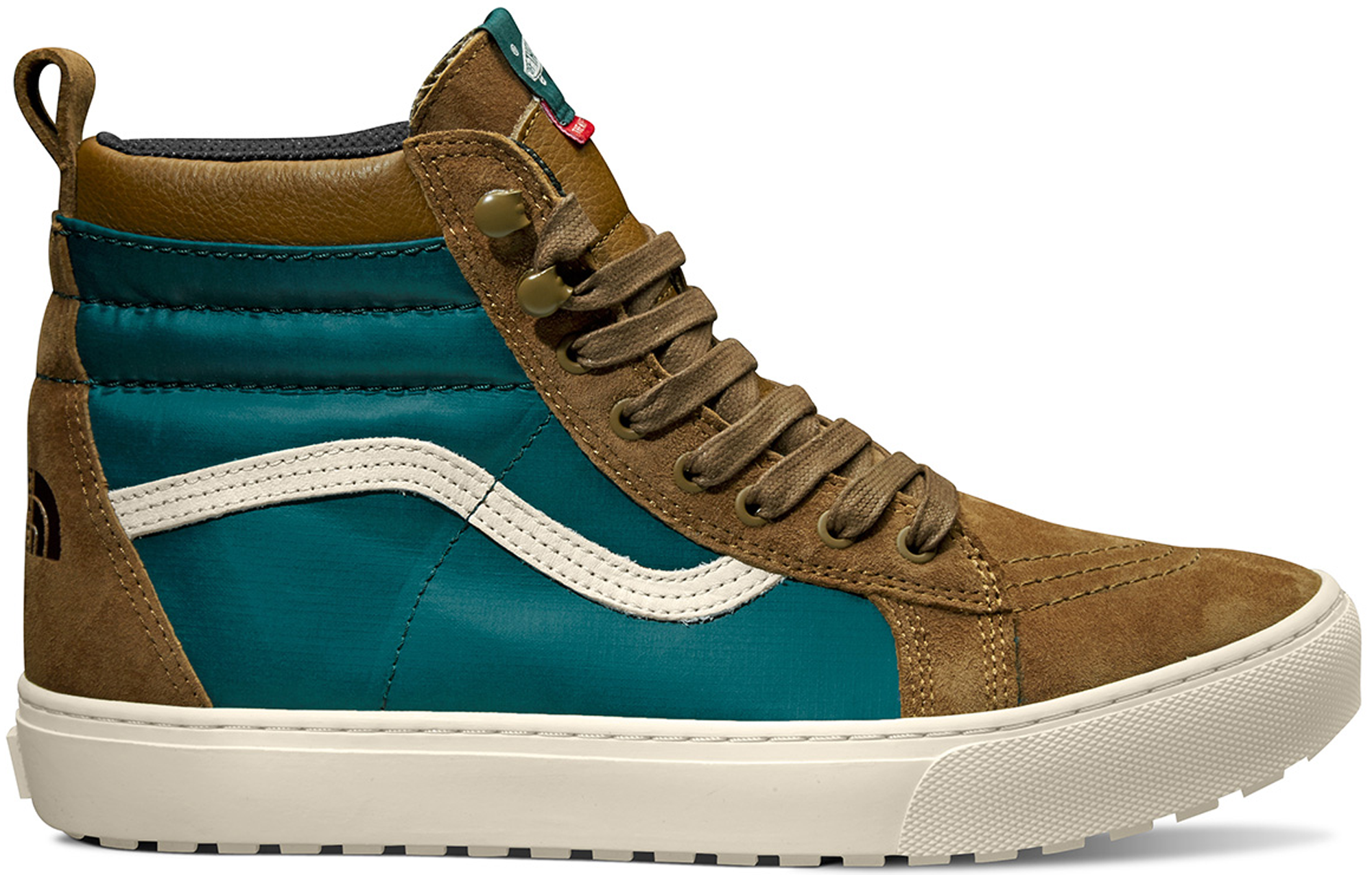 Sk8-Hi MTE The North Face Deep Teal