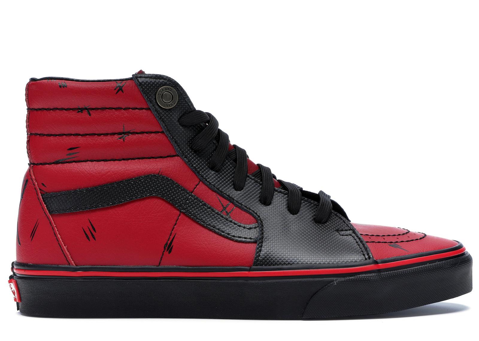 Vans Sk8-Hi Marvel Deadpool