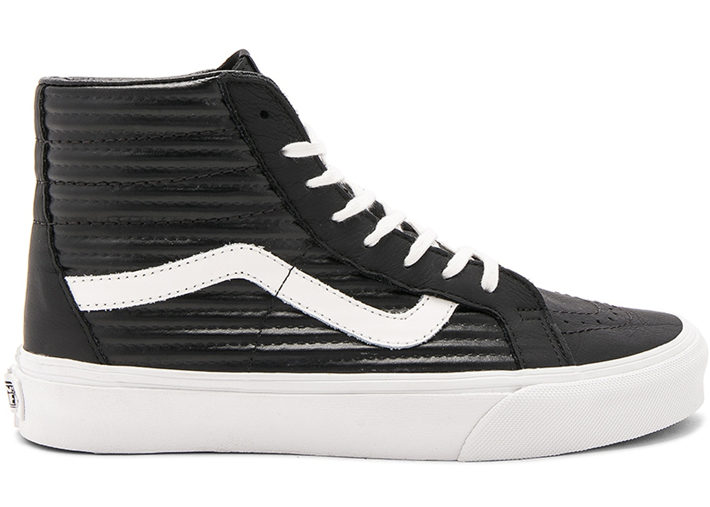 aa9bc2ad7e06 Sell. or Ask. Size: 12.5. View All Bids. Vans Sk8-Hi Moto Leather Black  White ...