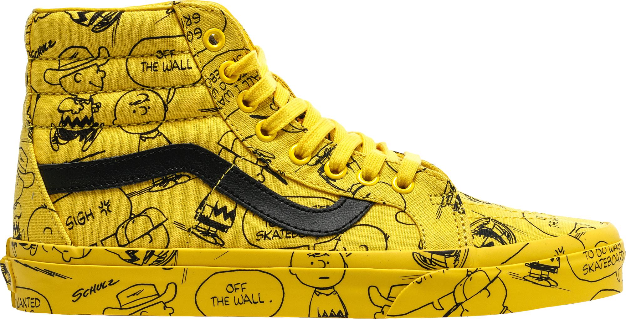 Vans Sk8-Hi Peanuts Charlie Brown