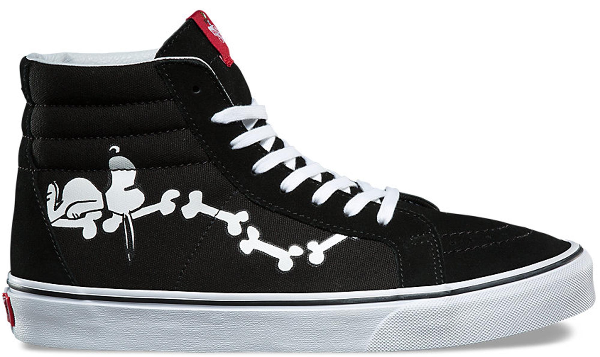 Vans Sk8-Hi Re-Issue Peanuts Snoopy