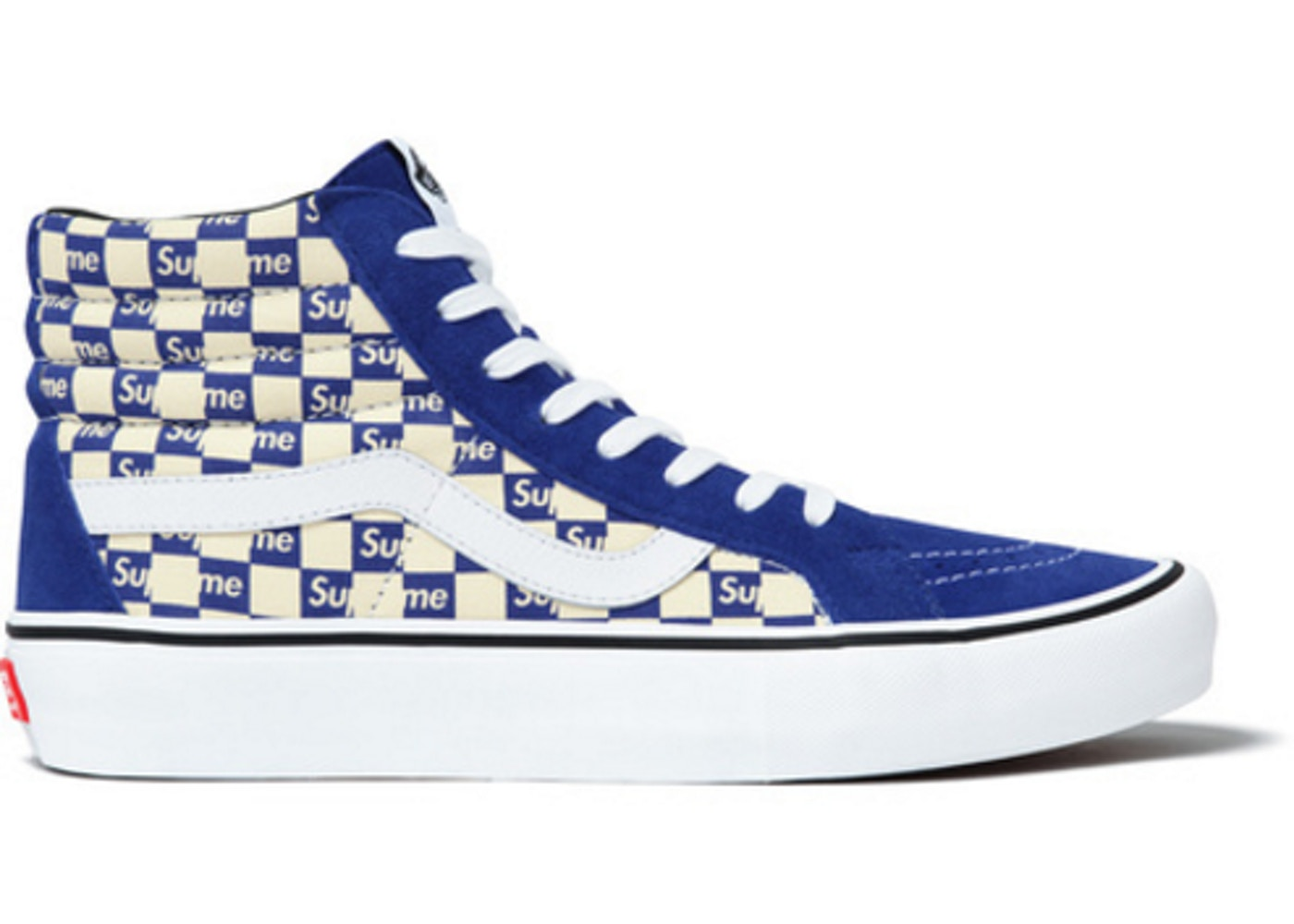 27ca3eb47a25a8 Sell. or Ask. Size  10. View All Bids. Vans Sk8-Hi Supreme Blue Checker Logo