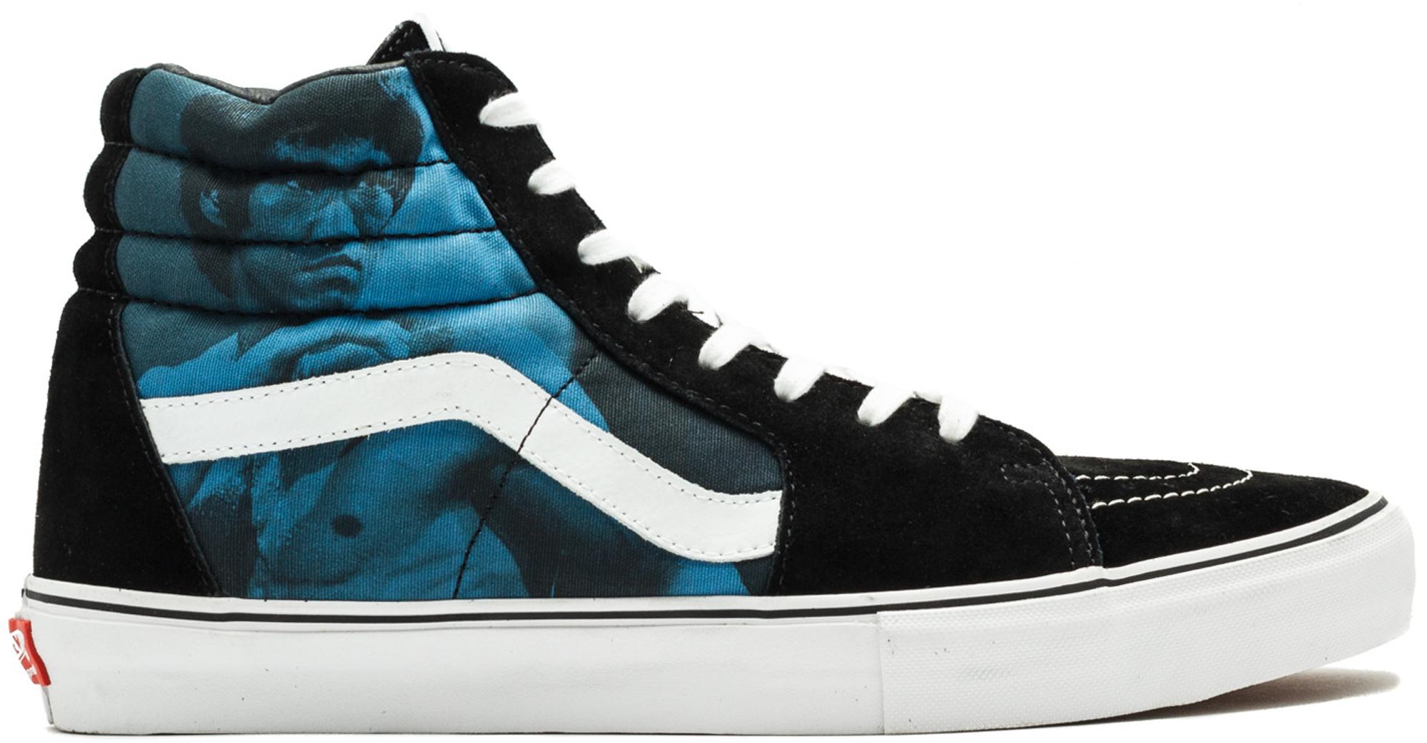 Vans Sk8-Hi Supreme Bruce Lee (Blue