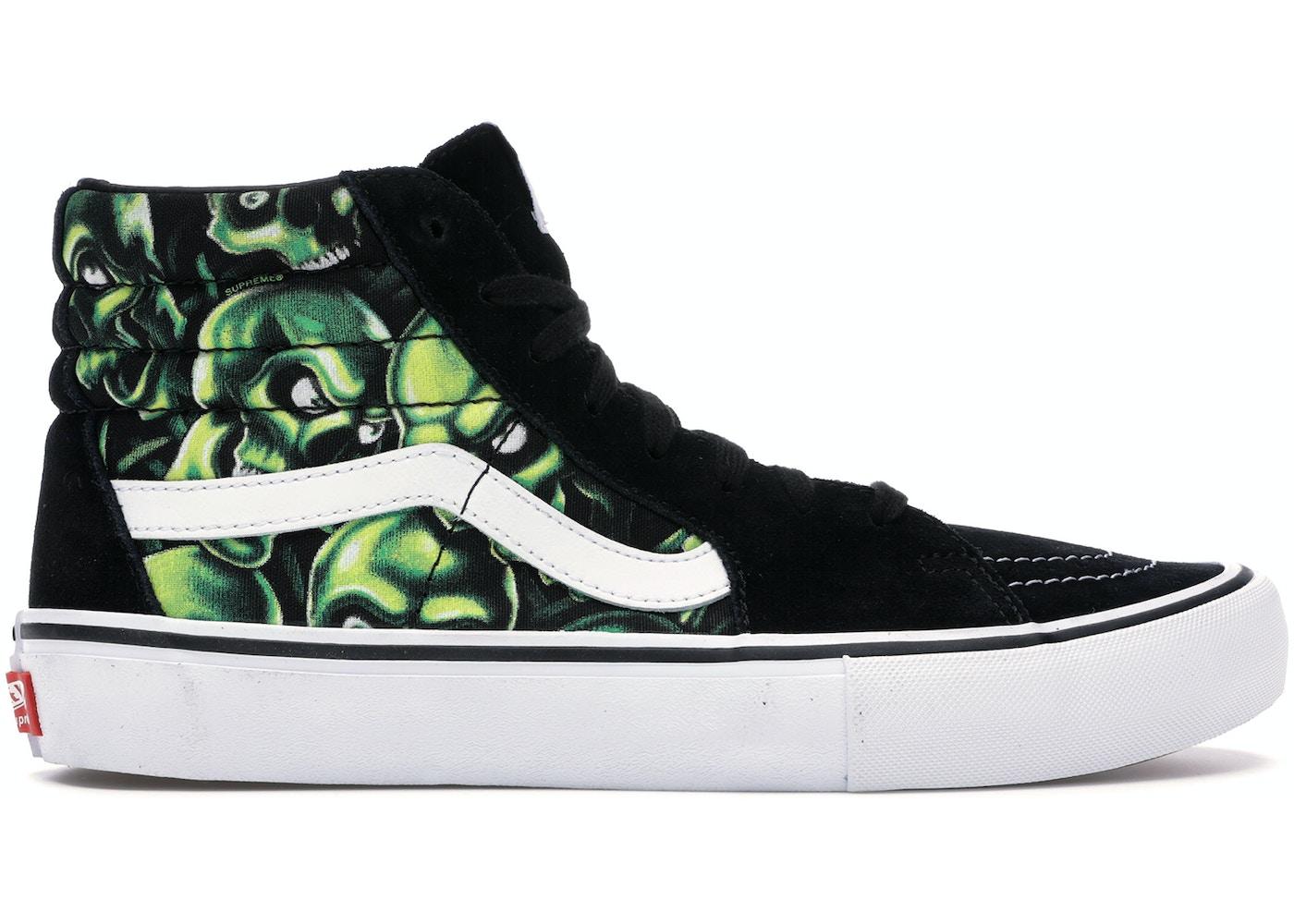 0eee4d70ac Vans Sk8-Hi Supreme Skull Pile (Green) - VN000VHG3FW