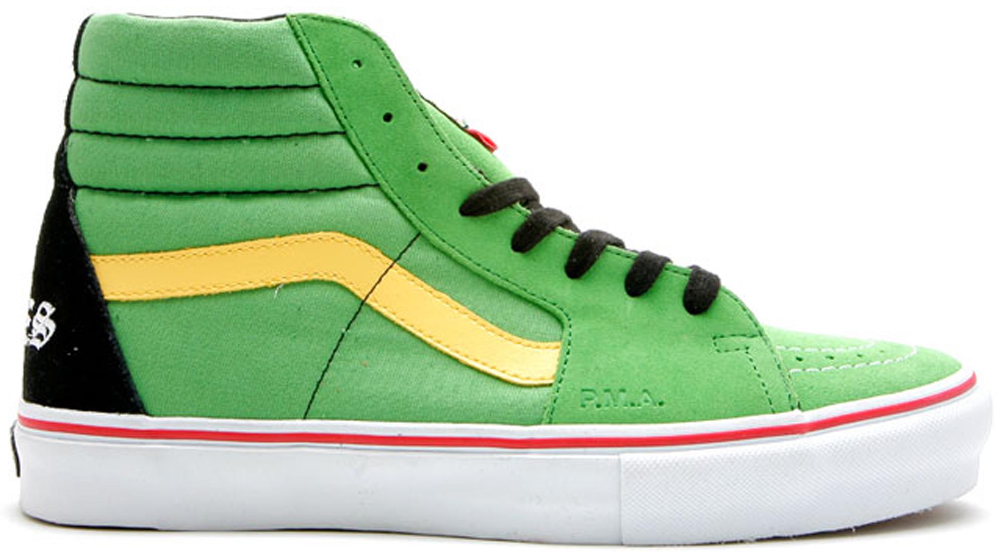 Vans Sk8-Hi Supreme x Bad Brains Green