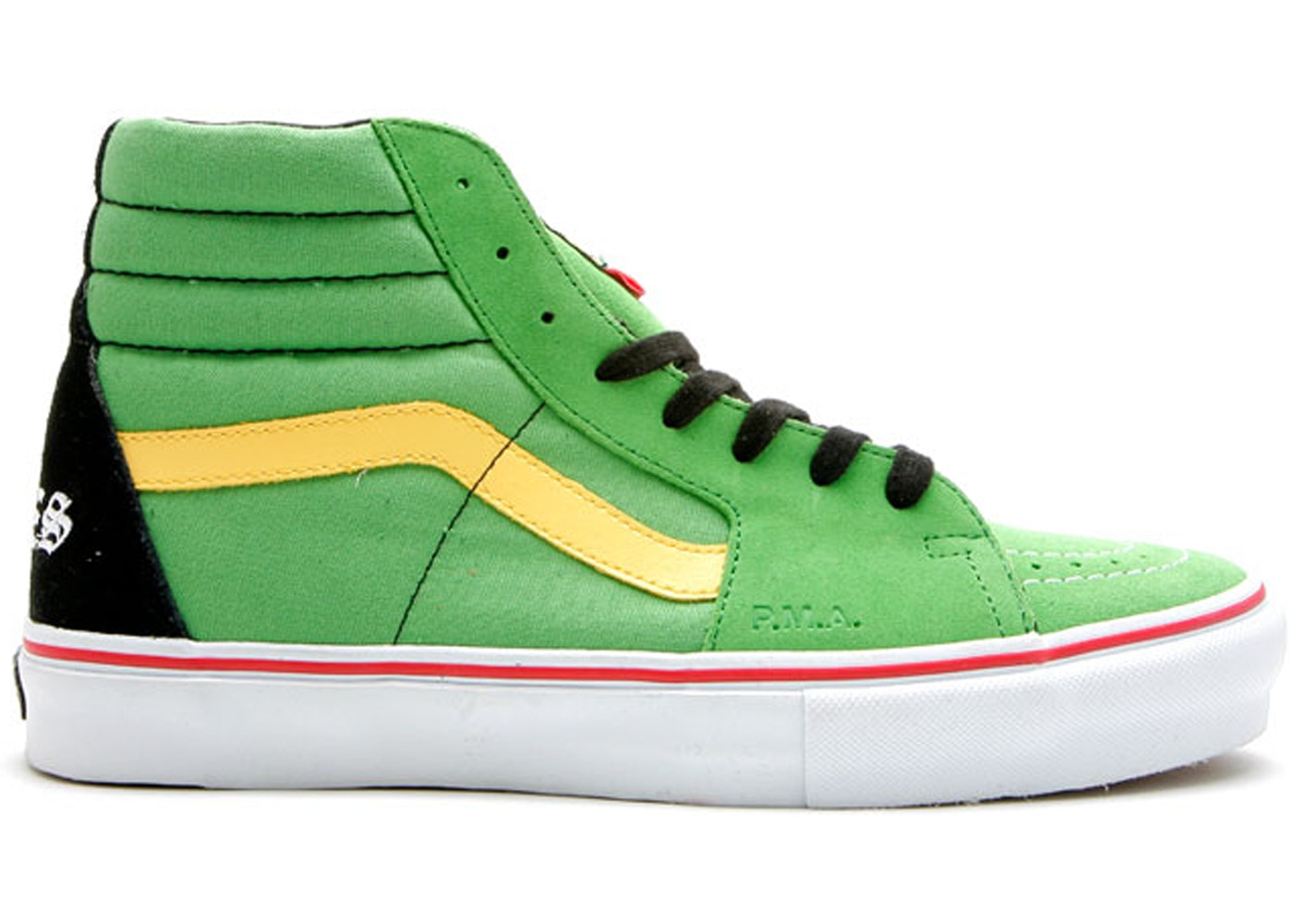 9563016967 Sell. or Ask. Size  11. View All Bids. Vans Sk8-Hi Supreme x Bad Brains  Green