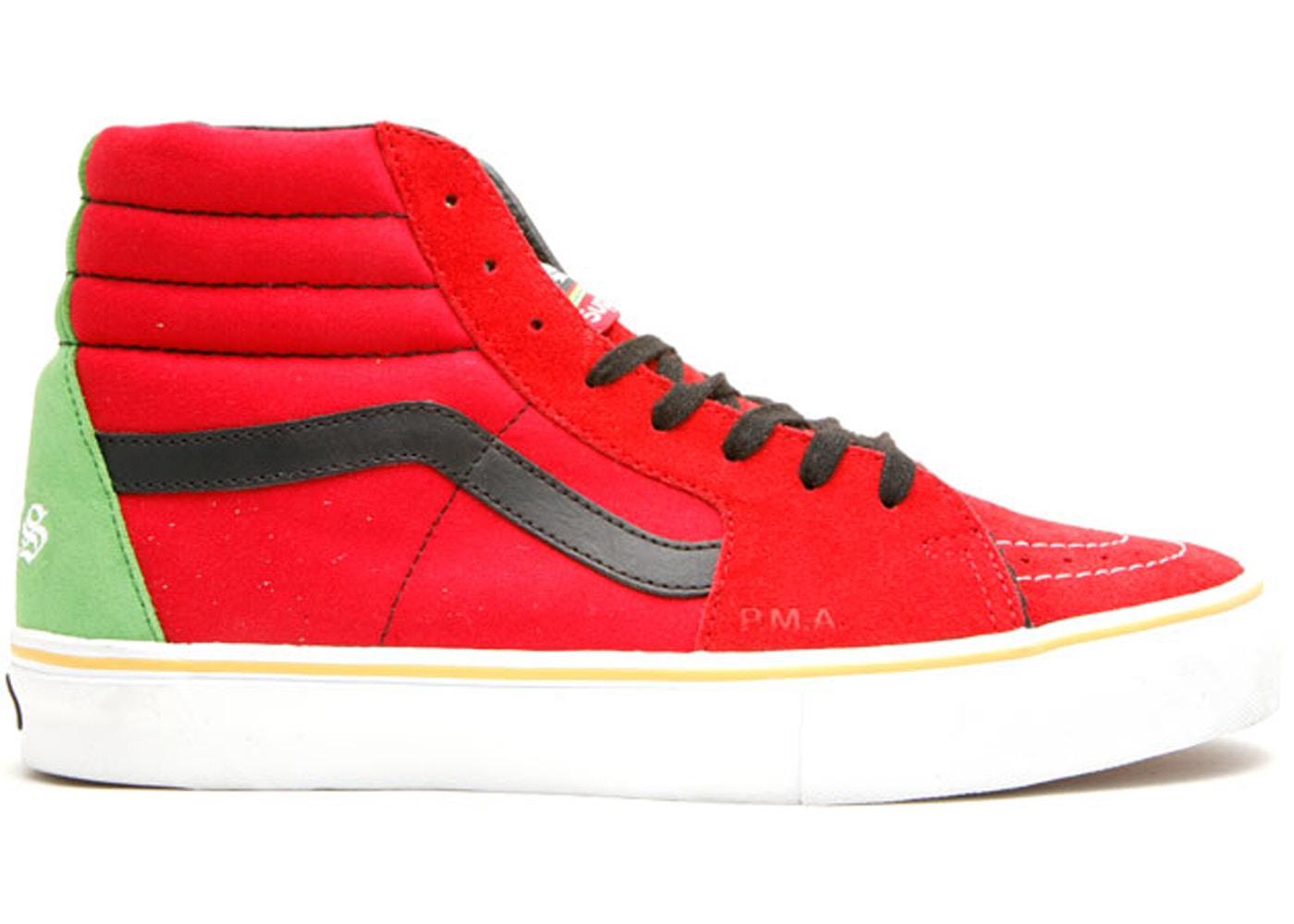 f5afcf4e01 Vans Sk8-Hi Supreme x Bad Brains Red - VN0FWQ2W7