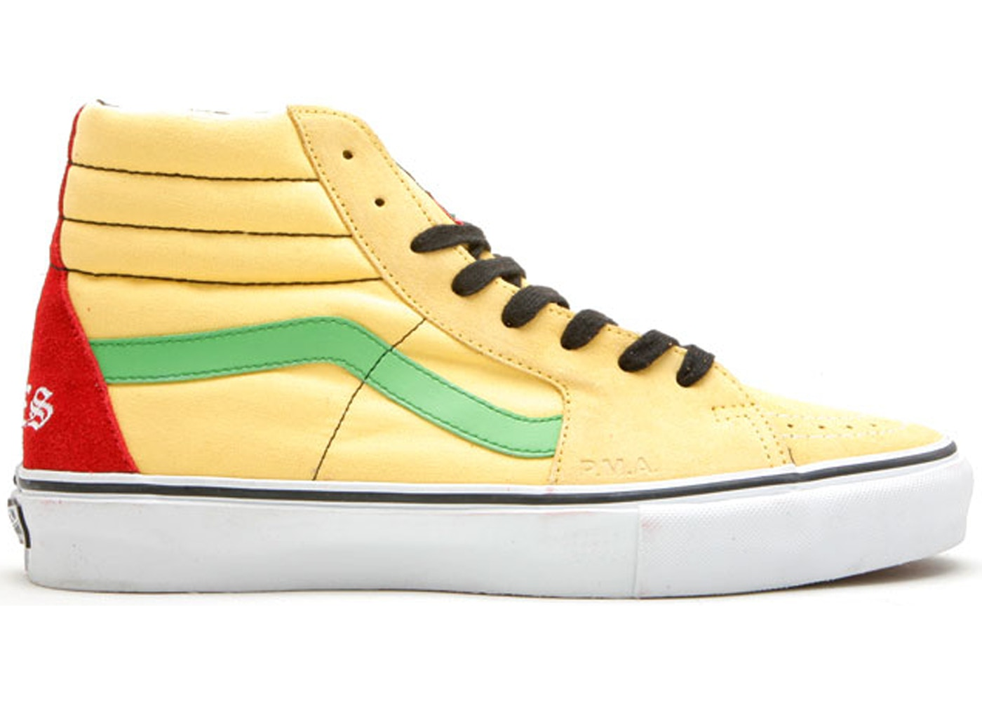 3a003c9df7 Sell. or Ask. Size --. View All Bids. Vans Sk8-Hi Supreme x Bad Brains  Yellow