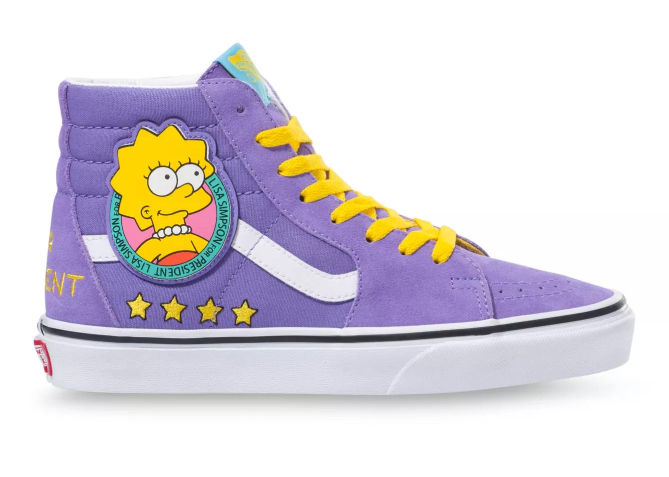 Vans Sk8-Hi The Simpsons Lisa - Sneakers
