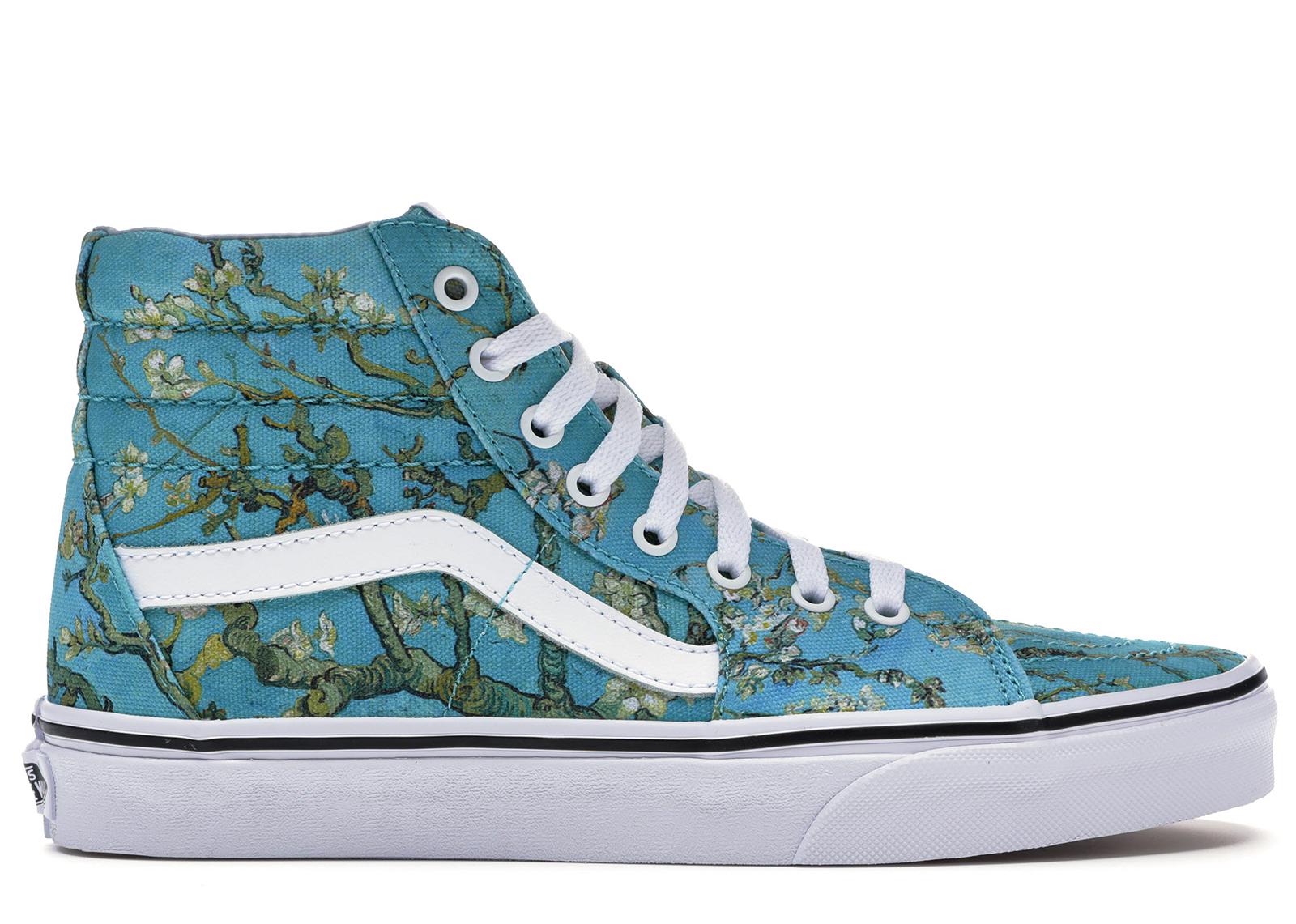 Vans Sk8 Hi Van Gogh Almond Blossom (W)