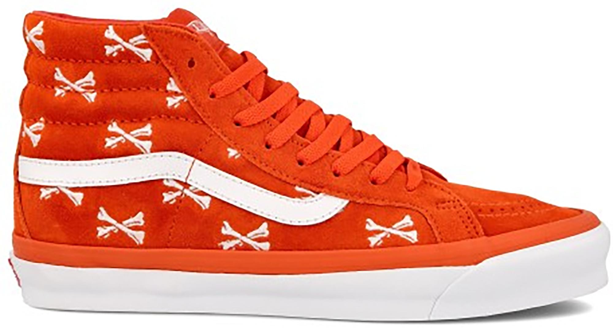 Vans Sk8-Hi WTAPS Bones Orange