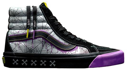 vans halloween shoes