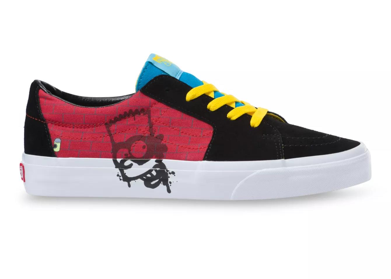 Vans Sk8-Low The Simpsons El Barto