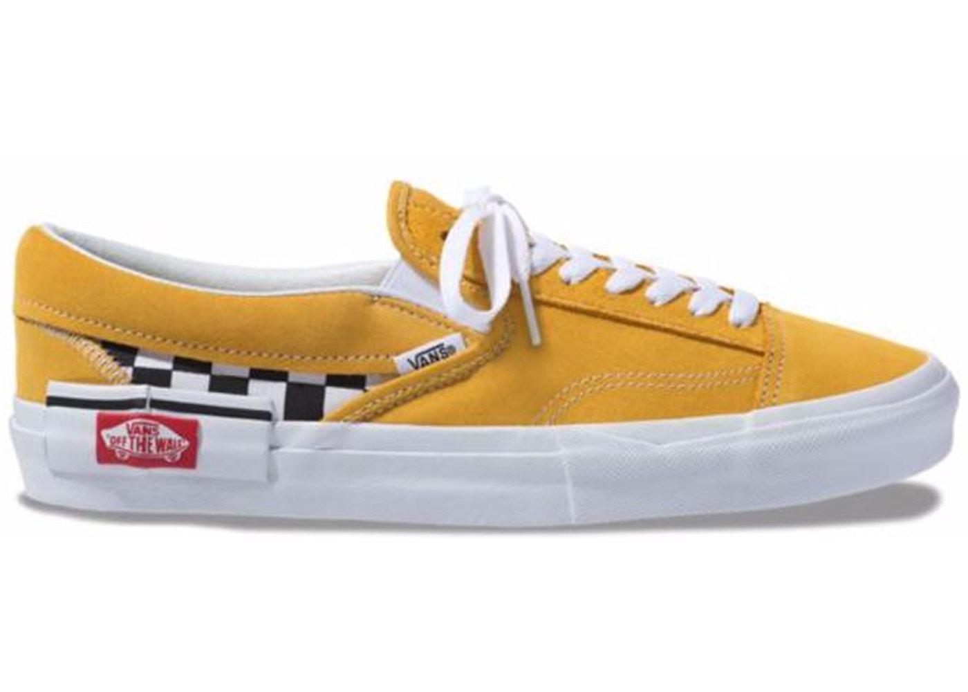 0657d4869840 Vans Slip-On Cap Checkerboard Yolk Yellow