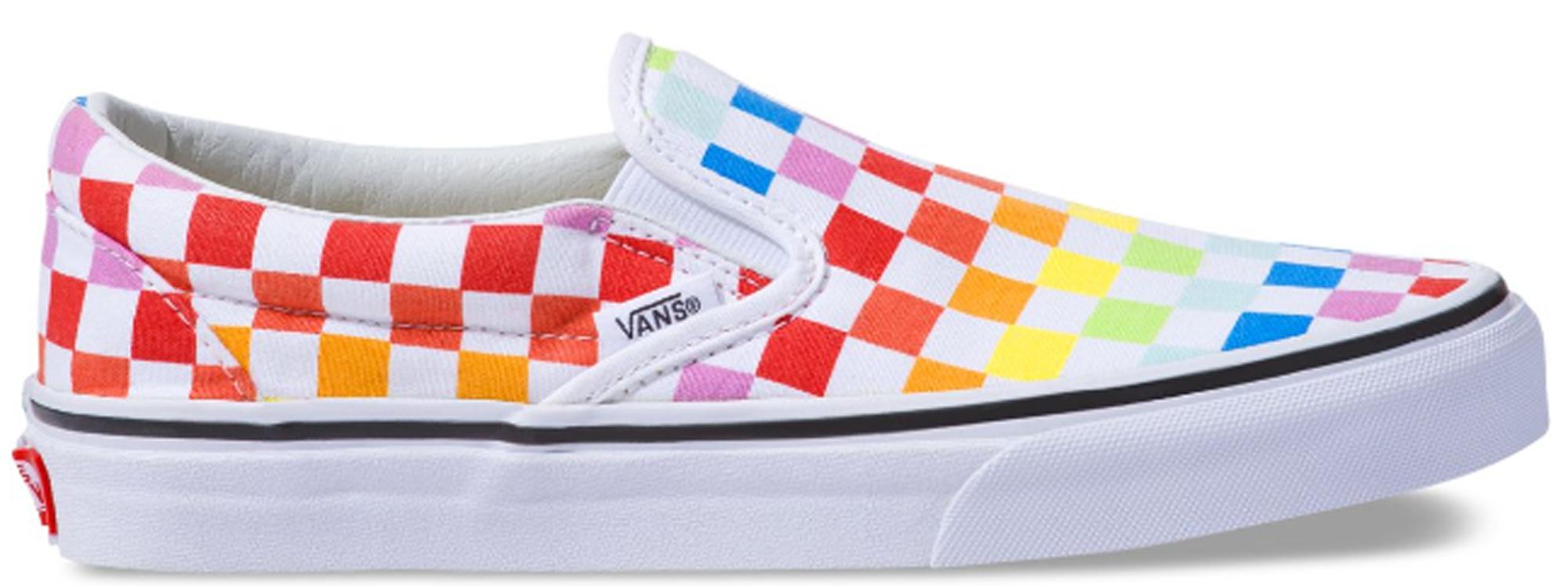 Vans Slip-On Checkerboard Pride 2019