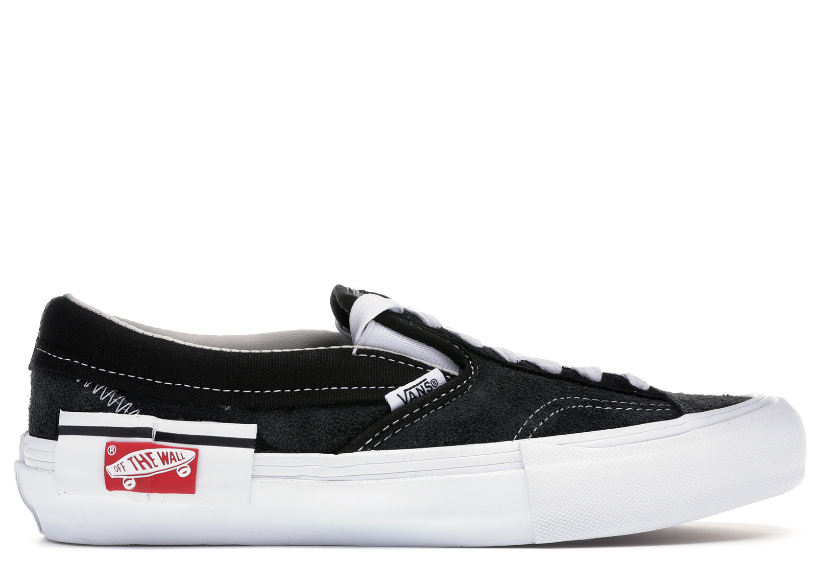 Slip-On Deconstructed Black