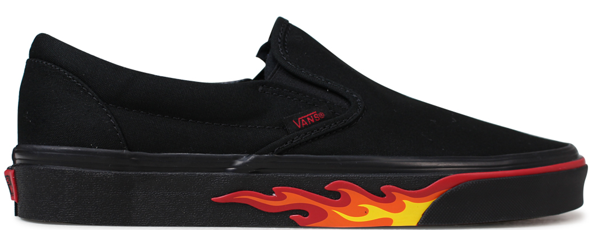 Vans Slip-On Flame Wall - VN0A38F7Q8Q