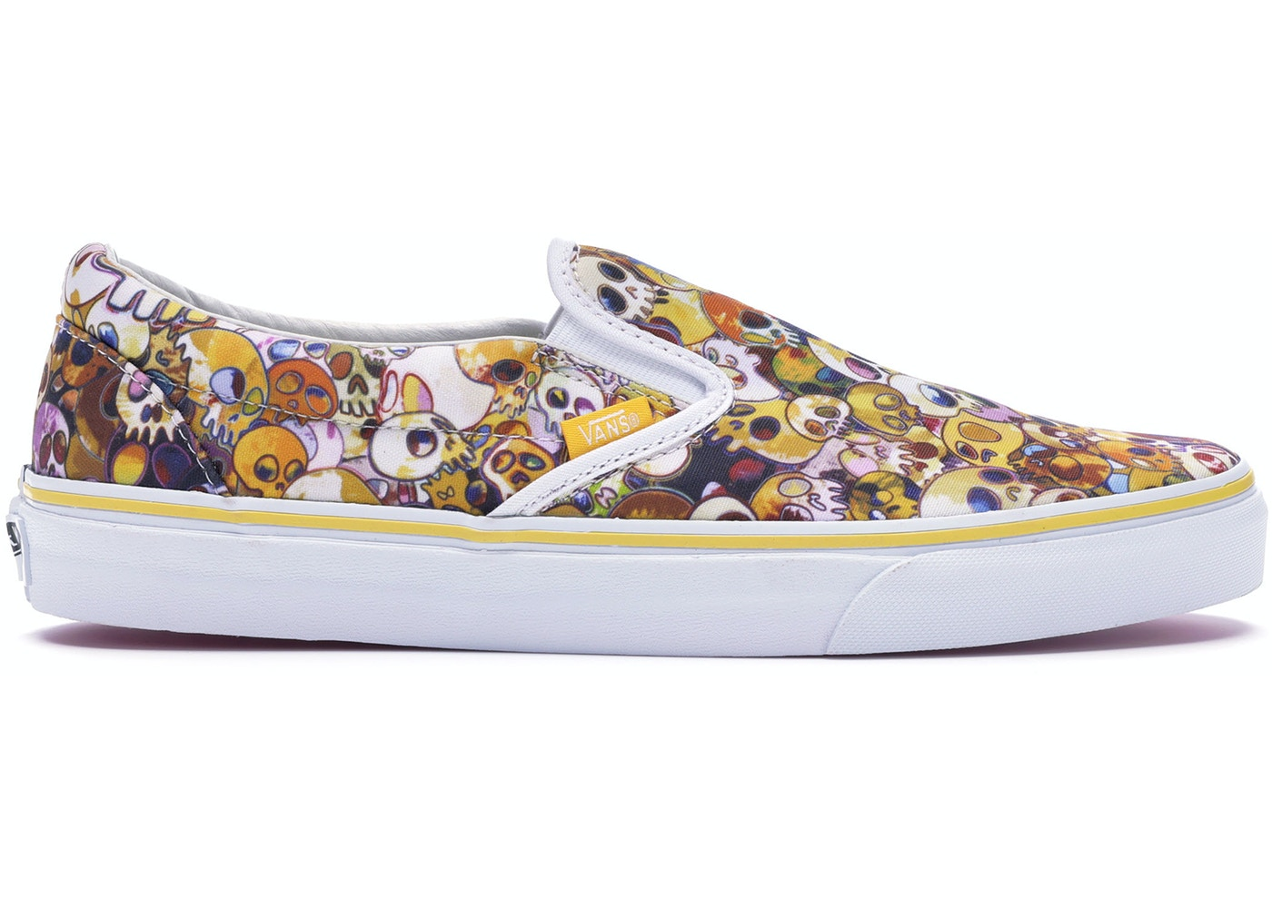 95548053d0 Vans Slip-On LX Murakami Yellow Skull - VN-0ZSIGUI