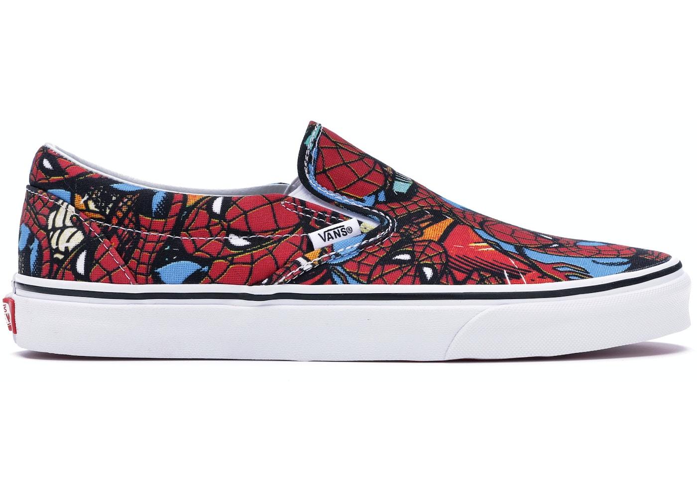 45d2c3ec40 Vans Slip-On Marvel Spider Man - VA38F79H7