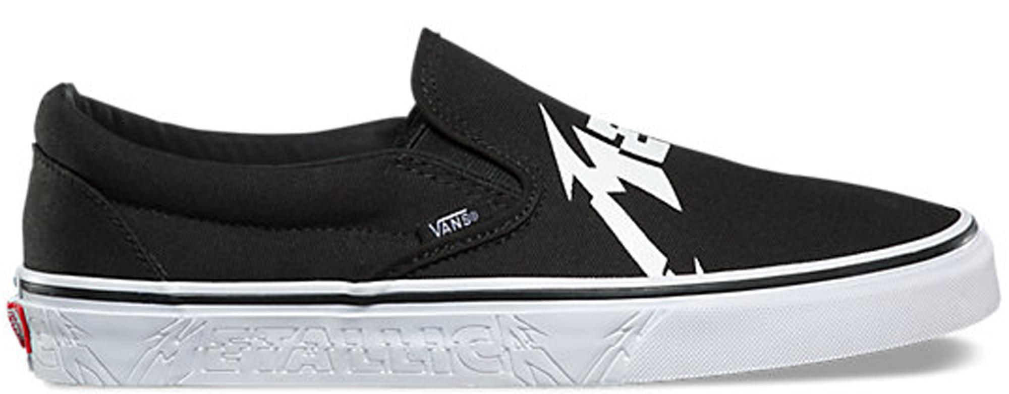 Vans Slip-On Metallica (2018)