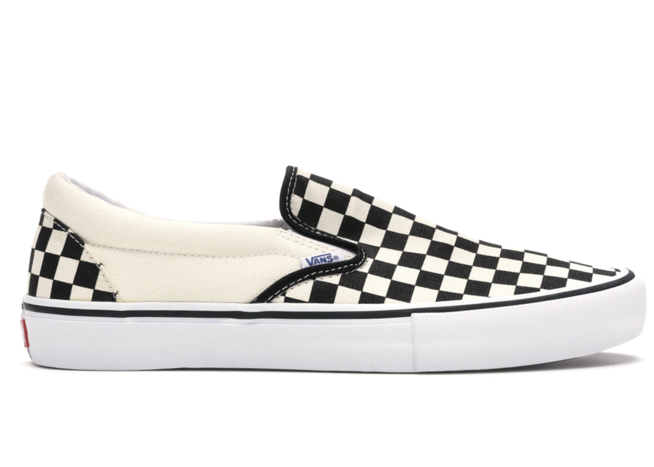 vans checkerboard slip on pro