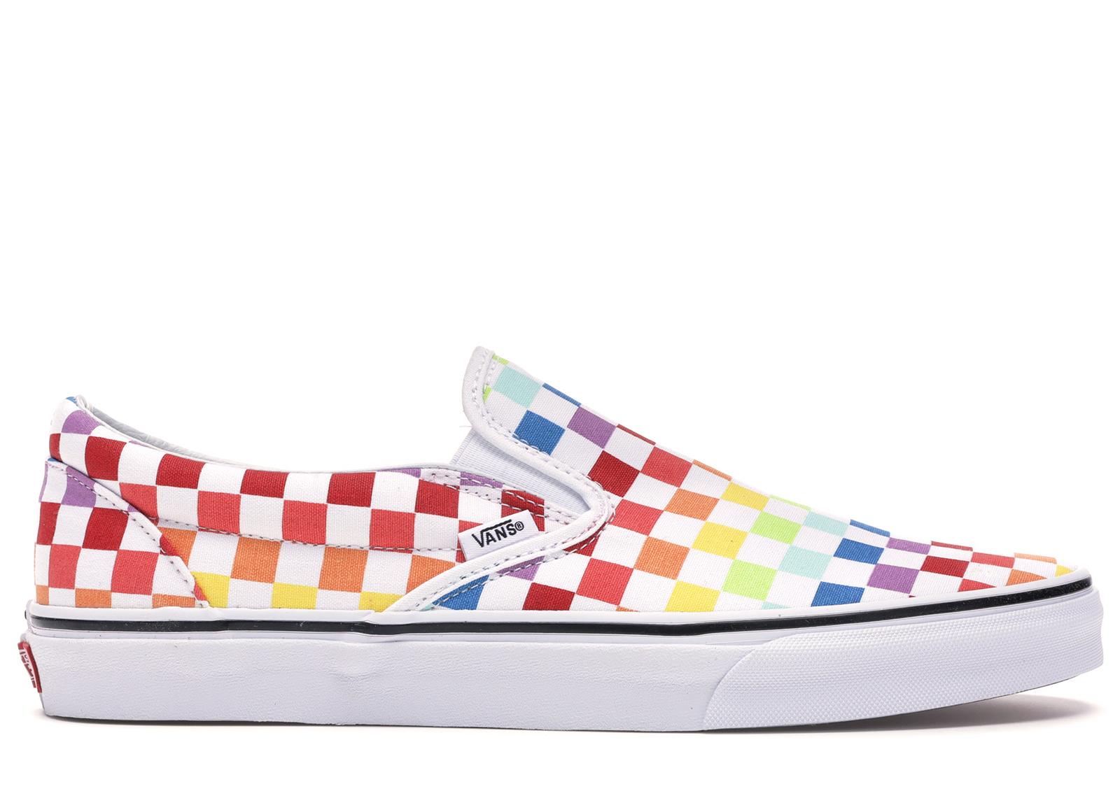 Vans Slip-On Rainbow Checkerboard