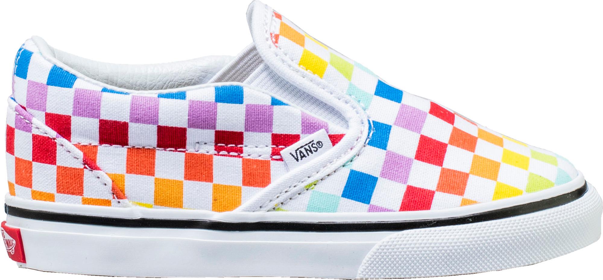 Vans Slip-On Rainbow Checkerboard (TD