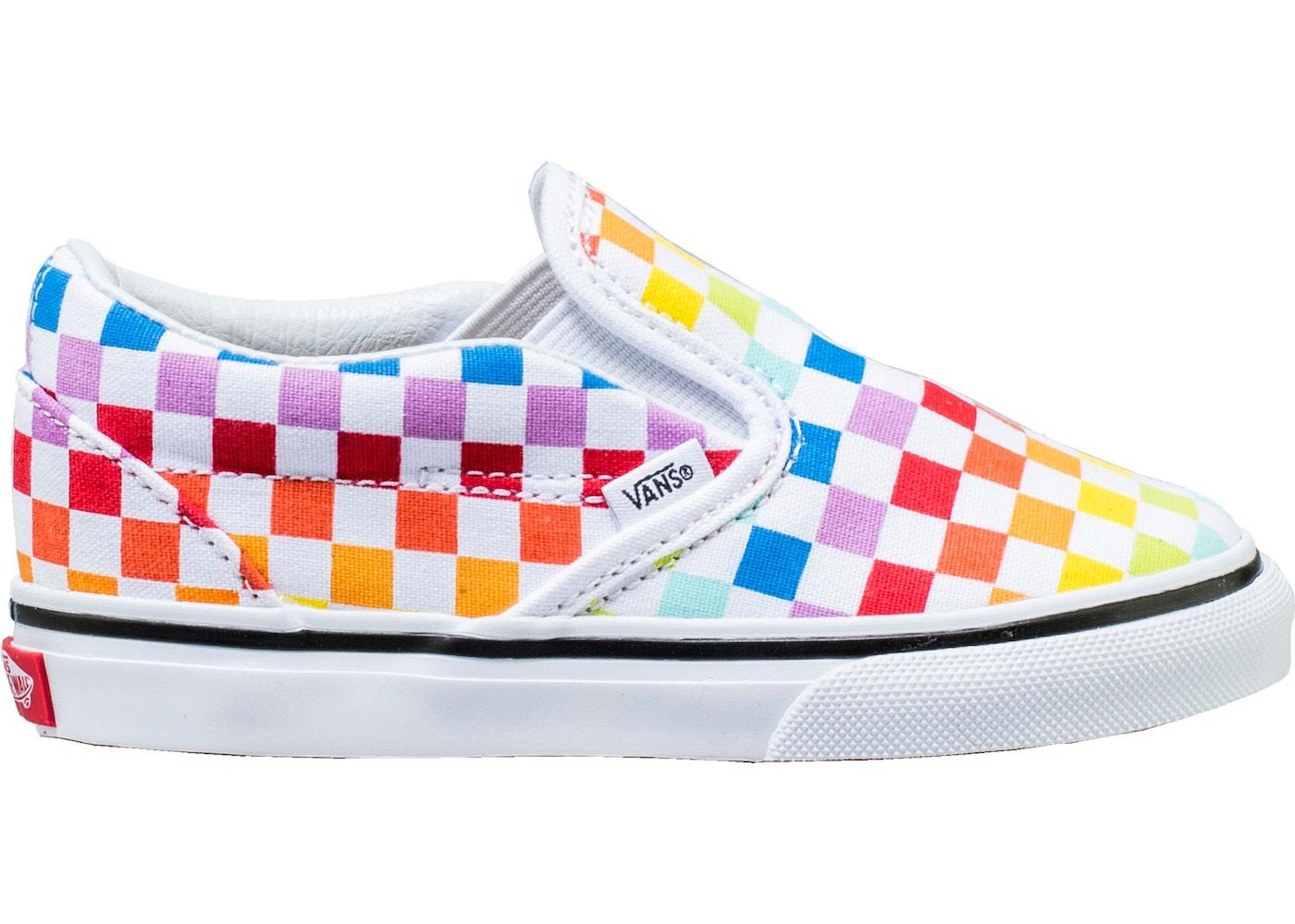 50d01575a920 Vans Slip-On Rainbow Checkerboard (TD) - VN000EX8U09