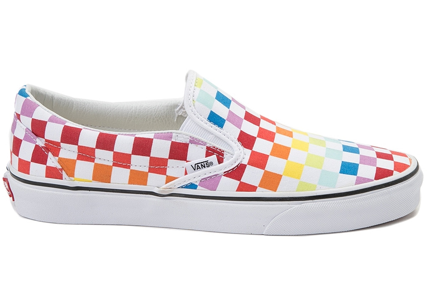 Rainbow Slip Checkerboard Putkizoxwl On Vans reCdBox