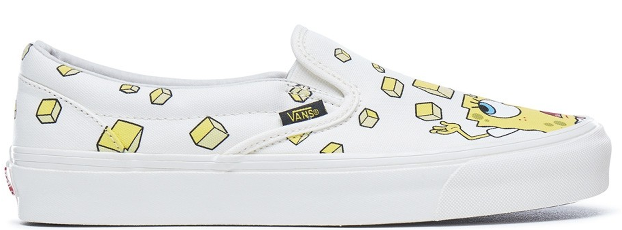 Slip-On Spongebob Yellow