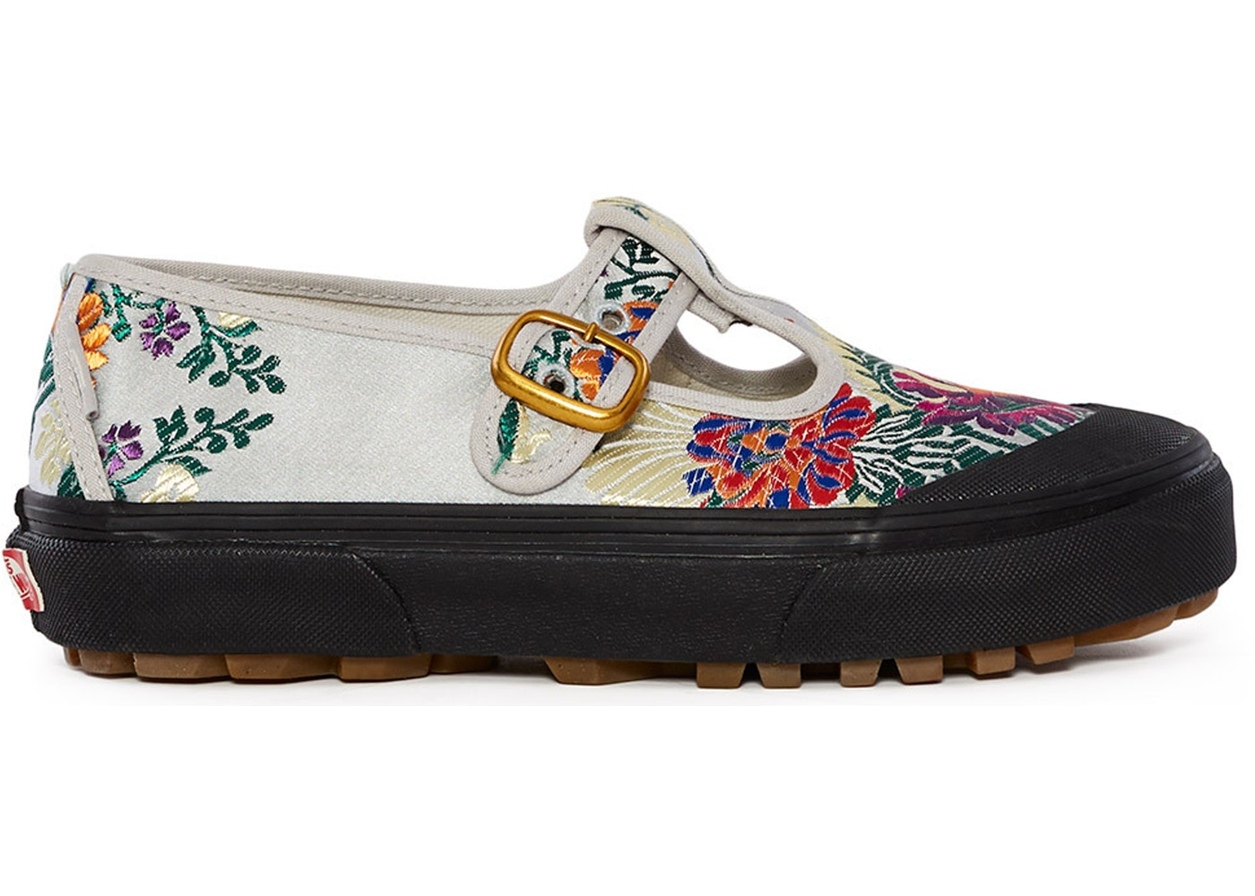 Vans Style 93 Opening Ceremony Satin Floral Grey